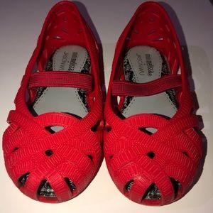 Mini Melissa Jason Wu red flats
